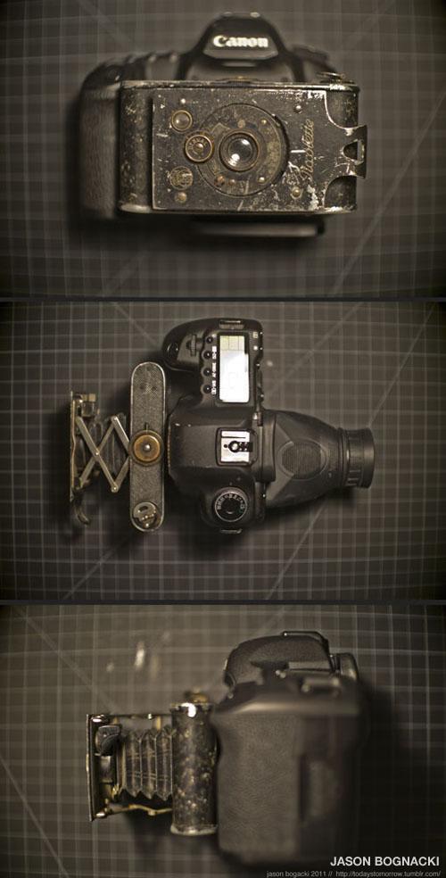 Piccolette Contessa-Nettel mounted on Canon 5d